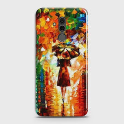 Huawei Mate 20 Lite Girl with Umbrella Case