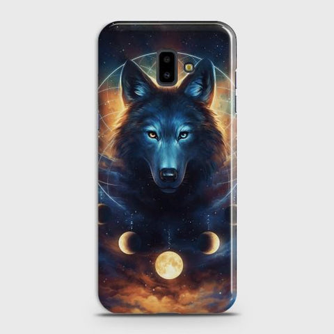 SAMSUNG GALAXY J6 PLUS Wolf Dream Catcher Case