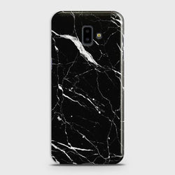 SAMSUNG GALAXY J6 PLUS Trendy Black Marble Case