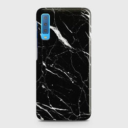 SAMSUNG GALAXY A7 (2018) Trendy Black Marble Case