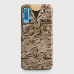 SAMSUNG GALAXY A7 (2018) Army Costume With Custom Name Case