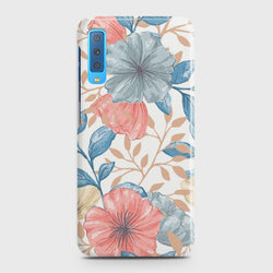 SAMSUNG GALAXY A7 (2018) Seamless Flower Case