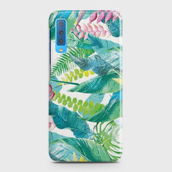 SAMSUNG GALAXY A7 (2018) Retro Palm Leaves Case