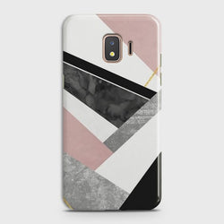 SAMSUNG GALAXY J2 CORE Geometric Luxe Marble Case