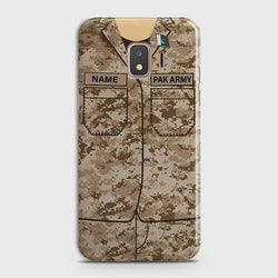 SAMSUNG GALAXY J2 CORE Army Costume With Custom Name Case