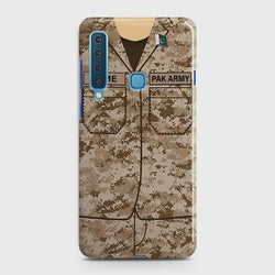 SAMSUNG GALAXY A9 (2018) Army Costume With Custom Name Case