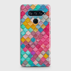 LG V40 Colorful Mermaid Scales Case