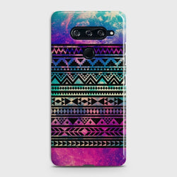 LG V40 Galaxy Aztec Pattern Case