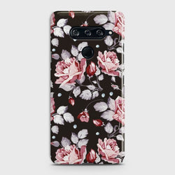 LG V40 Blush Rose Flowers Case