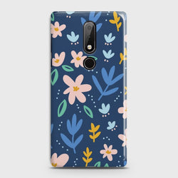 Nokia 7.1 Colorful Flowers Case