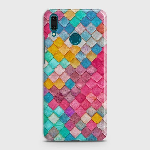 HUAWEI Y9 (2019) Colorful Mermaid Scales Case