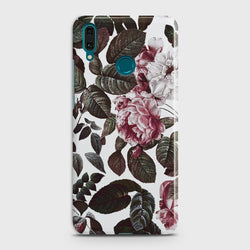 HUAWEI Y9 PRIME (2019) Shadow Blossom Vintage Flowers Case