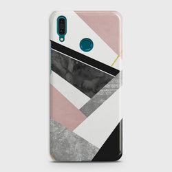 HUAWEI Y9 PRIME (2019) Geometric Luxe Marble Case