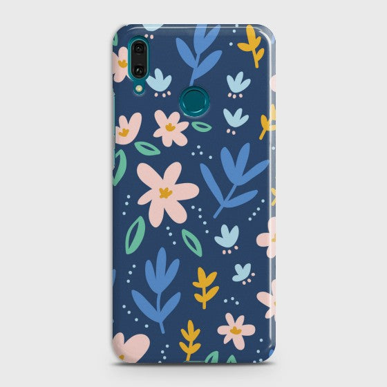 Huawei Y9 2019 Colorful Flowers Case