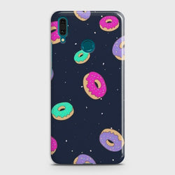 Huawei Y9 2019 Colorful Donuts Case