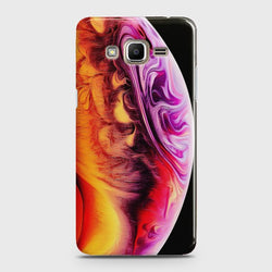 SAMSUNG GALAXY GRAND PRIME PLUS Texture Colorful Moon Case