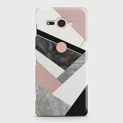 Sony Xperia XZ 2 Geometric Luxe Marble Case