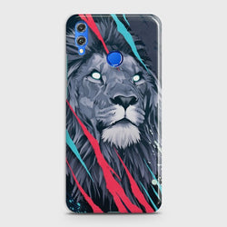 HUAWEI HONOR 8X Abstract Animated Lion Case