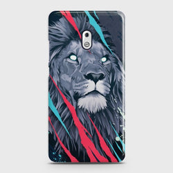 NOKIA 2.1 Abstract Animated Lion Case