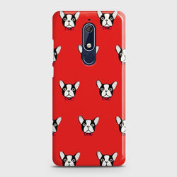 Nokia 5.1 BOSTON TERRIER RED Case