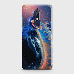 Nokia 5.1 Peacock Diamond Embroidery Case