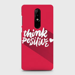 Nokia 5.1 Plus (Nokia X5) Think Positive Case