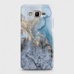SAMSUNG GALAXY J2 PRIME Golden Blue Marble Case