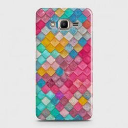 SAMSUNG GALAXY J2 PRIME Colorful Mermaid Scales Case