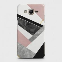 SAMSUNG GALAXY J2 PRIME Geometric Luxe Marble Case
