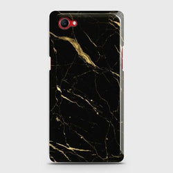 Oppo F7 Youth Classic Golden Black Marble Case