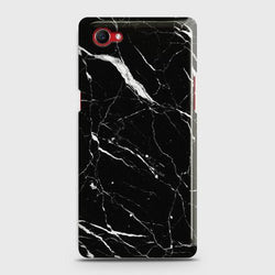 Oppo F7 Youth Trendy Black Marble Case