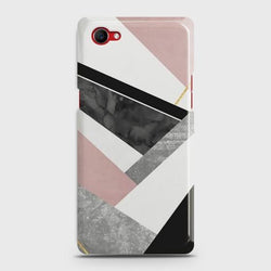 Oppo F7 Youth Geometric Luxe Marble Case