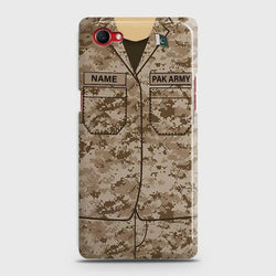 Oppo F7 Youth Army Costume With Costum Name Case