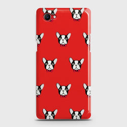 Oppo F7 Youth BOSTON TERRIER RED Case