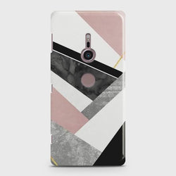Sony Xperia XZ 3 Geometric Luxe Marble Case