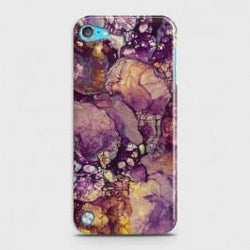 IPOD TOUCH 5 Purple Agate Marble Case