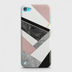 IPOD TOUCH 5 Geometric Luxe Marble Case