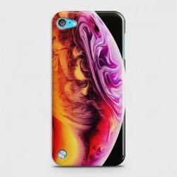 IPOD TOUCH 5 Texture Colorful Moon Case