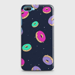 Huawei Honor 10 Colorful Donuts Case