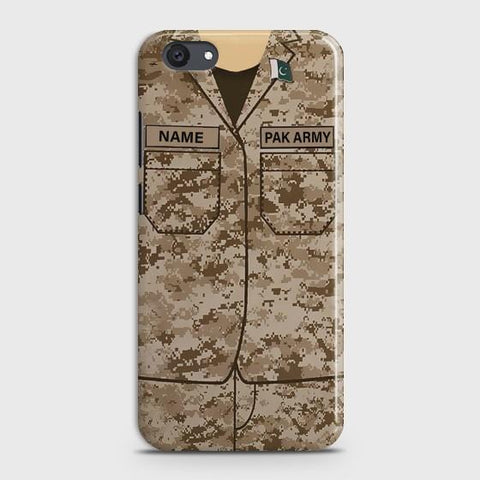 VIVO Y81I Army shirt with Custom Name Case