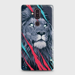 Nokia 8.1 Abstract Animated Lion Case