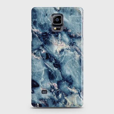 SAMSUNG GALAXY NOTE EDGE Blue Marble Stone Case