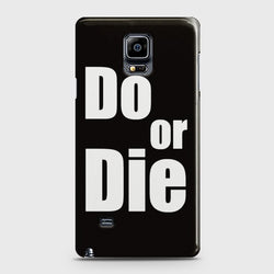 SAMSUNG GALAXY NOTE EDGE Do or Die Case