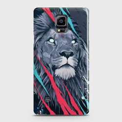 SAMSUNG GALAXY NOTE EDGE Abstract Animated Lion Case