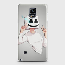 SAMSUNG GALAXY NOTE EDGE Marshmello Face Case