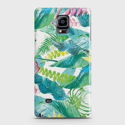 SAMSUNG GALAXY NOTE EDGE Retro Palm Leaves Case