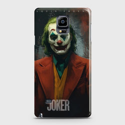 SAMSUNG GALAXY NOTE EDGE joaquin phoenix Case