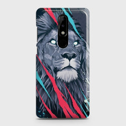 Nokia 3.1 Plus Abstract Animated Lion Case