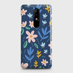 Nokia 3.1 Plus Colorful Flowers Case