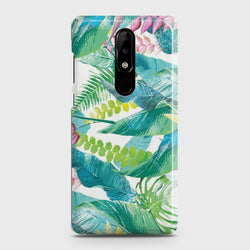 Nokia 3.1 Plus Retro Palm Leaves Case